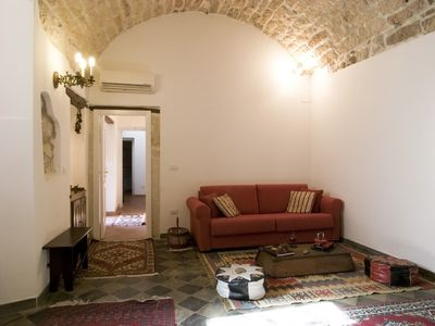 Syracuse apartment rental - Living - room (Ciricò)