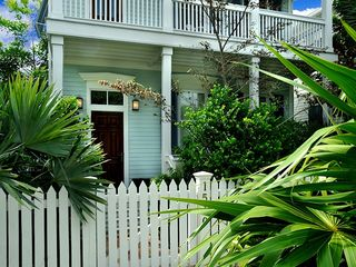 Key West house photo - The front yard is lushly landscaped.