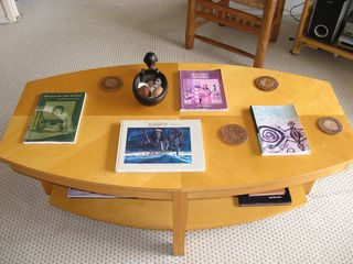 Kihei condo photo - Coffee Table with Reading Materials on Polynesian Culture