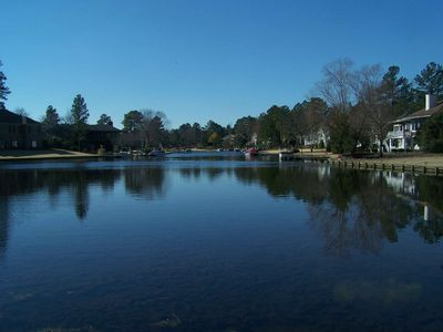 Beautiful view of Lake Pinehurst