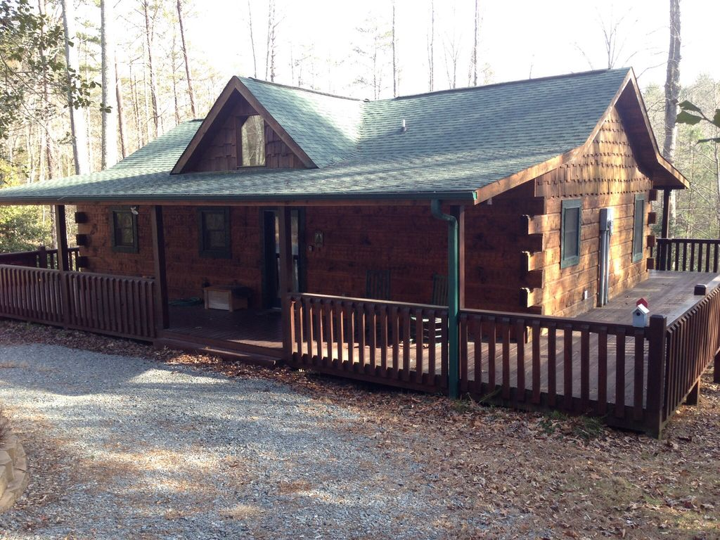Blue Ridge Vacation Rental Vrbo 495043 1 Br Northwest High Country Cabin In Ga Secluded 2