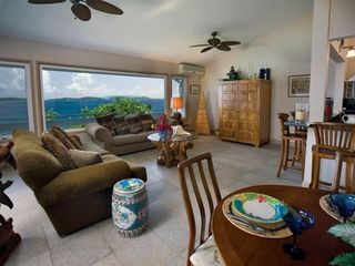East End villa photo - Great Room Looking Down Island to BVI and St. John!