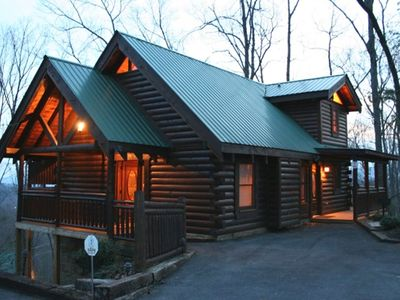 Tranquility Point...a luxury log cabin in Gatlinburg, TN