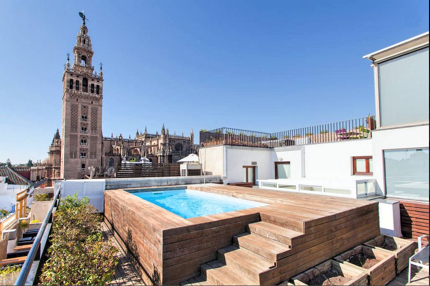 Unique luxury apart best swimming pool homeaway seville - Swimming pool seville ...