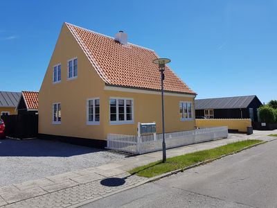 Cozy newly renovated house in Skagen's best neighborhood with wilderness bath in the yard