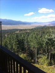 Angel Fire house photo - View from the Deck to the North - Eagle Nest