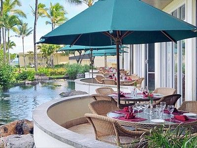 Lihue hotel rental - Tropical Outside Dining