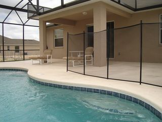 Wildflower Ridge villa photo - Pool and deck area