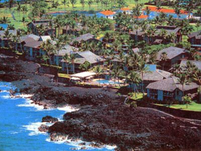 Overview of Kanaloa resort