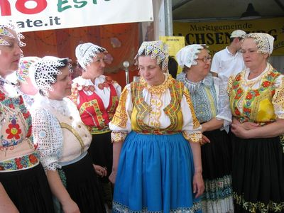 Traditional dress of Friuli