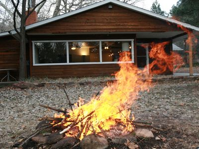 Near Camp LoMia. Check it out!   Spacious 4-bdrm Cabin/Fully remodeled.