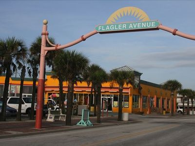 Less than a mile away is Flagler Avenue. Great boutique shopping!