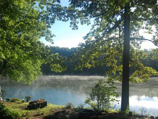 Copake house photo - Morning Mist on the Lake