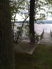 Pilot Knob cottage photo - Lakeside hammock