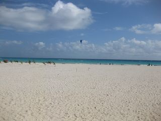 Playa del Carmen condo photo - This is the Playacar beach - the closest beach - about an 8 minute walk