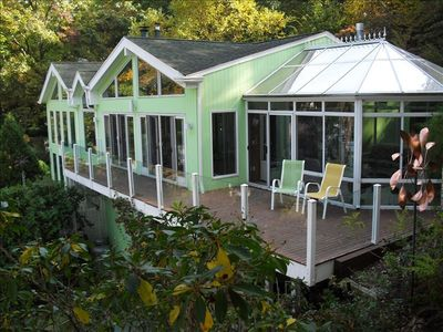 Oyster Bay house rental - Our retreat house is nesteled among the tree tops