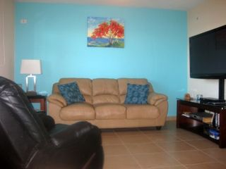 Aguadilla condo photo - Family Room with a 50' Plasma TV, Blue-Ray DVD and Cable in Family Room