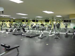The fitness center. - Santa Rosa Beach condo vacation rental photo