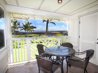 Waikoloa Beach Resort condo photo - The Lanai - great views of Mauna Kea every morning