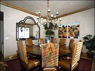 Snowmass Village house photo - Dining for 8