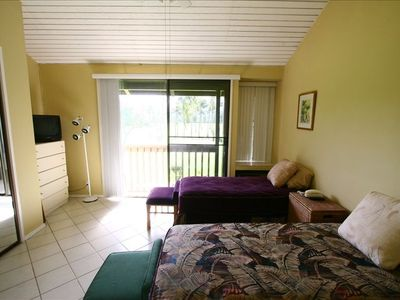 This is one of the light and spacious bedrooms on the 2nd floor with balcony