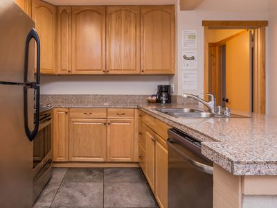 Granite tile kitchen countertops
