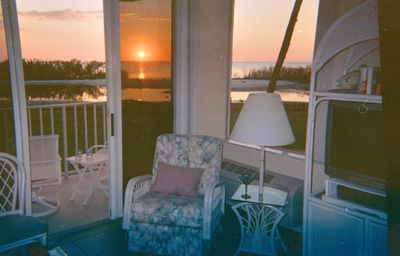 Relaxing sounds of the sea breeze through your open windows.