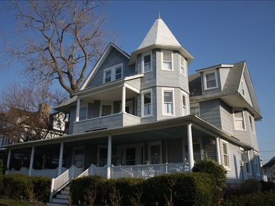 Spring Lake house rental - Spring Lake Grand Victorian with Ocean Views Thru-out