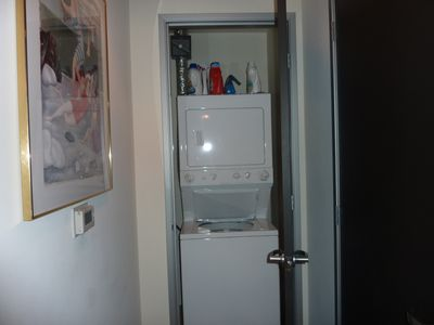 Washer & dryer in the hall