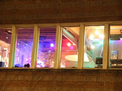 Music Loft Windows from Outside
