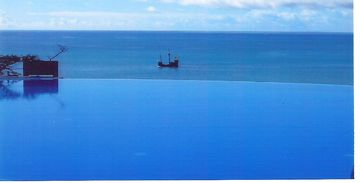 Funchal apartment rental - The infinity pool