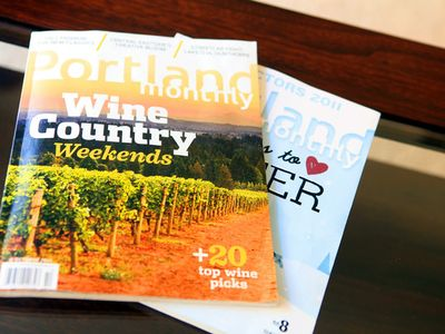 Local magazines and brochures