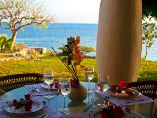 Isla Mujeres estate photo - Outdoor dining