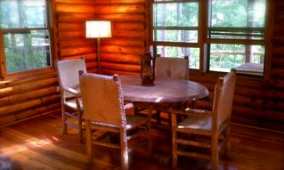 Catskill cabin photo - the dining room