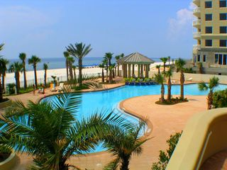 Perdido Key condo photo - Huge Pool. Largest one on the Key! 5,700 Sq ft.