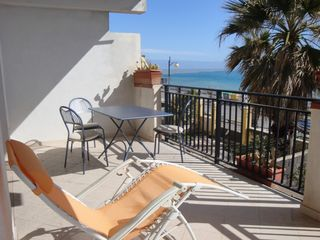 Taormina apartment photo - terrace dining area