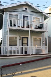 Charming beach house with two furnished units.