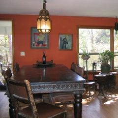 Margaretville house photo - Big country dining room table, great meals!