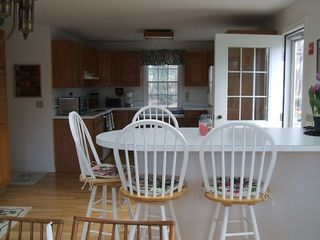 Hyannis - Hyannisport house photo - View of fully equipped kitchen from dining room