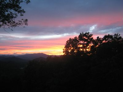 Amazing sunsets right from your deck! (or from your Master Bedroom)
