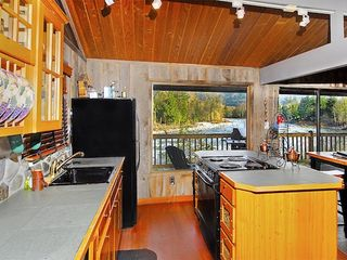 Gold Bar cabin photo - Enjoy views of the river as you cook!