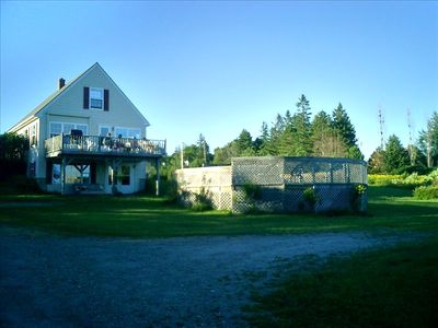 Searsport house rental - House from driveway