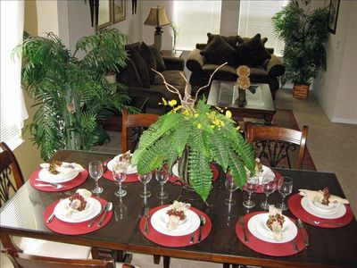 Quiet times or formal dinners. The formal living and dining area awaits