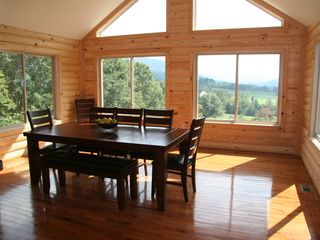 Luray cabin photo - dining room - look at the views while you dine!