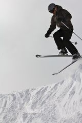 Extreme skiing locally. - Frisco condo vacation rental photo