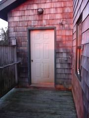 Beals - Great Wass Island cabin photo - Outdoor Shower: Water Views, Great at Sunset!