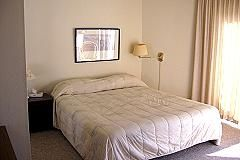 Watsonville condo rental - Master Bedroom: Bath, King-Size Bed, ocean view