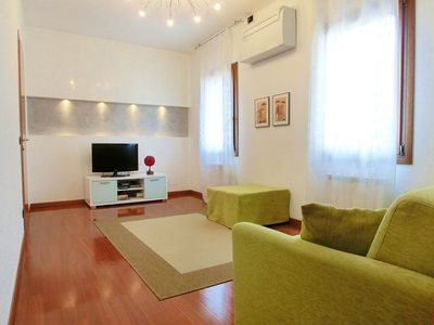 A completely new flat, within easy walking distance of St. Mark's Square, next to the main