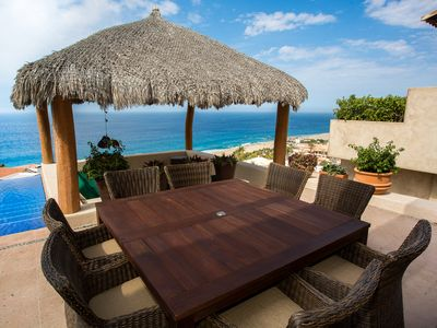 5 Bedroom Pedregal Retreat with Stunning Pacifica Ocean Views.  Steps to the Beach and Close to Cabo Night Life.  From $834/Night