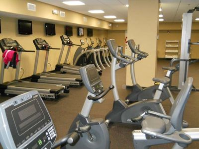 Aqua condo rental - Fitness Center